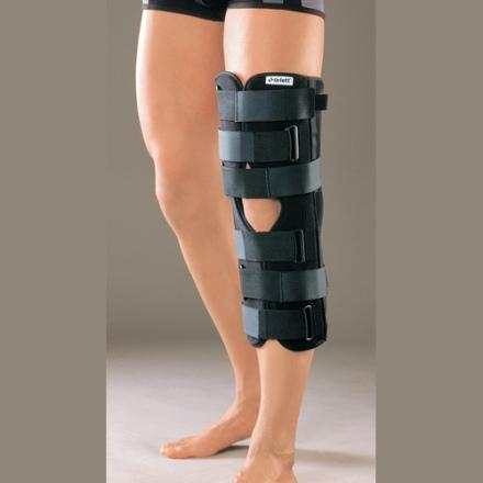 Лангетка на коленном суставе